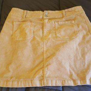 Wallflower Corduroy Skirt